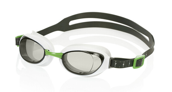 speedo Aquapure Mirror Goggle White/Smoke